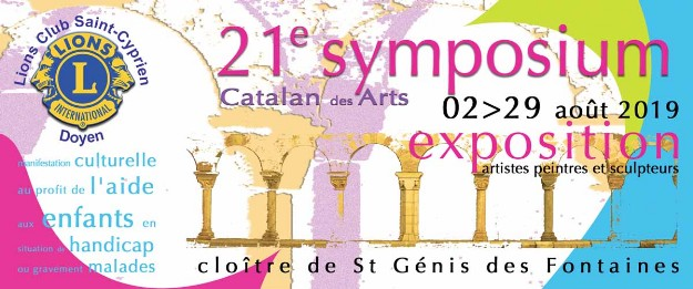 Flyer Symposium Catalan des Arts 2019
